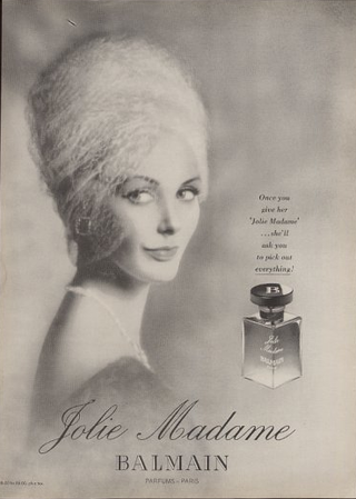 d6a36b80 Another amazing scent composed by Germaine Cellier. Jolie Madame has a  leather base which assures, as Cellier fragrances do, that even if it's  sweet like ...