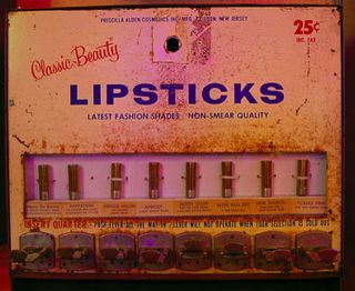 Lipstickvendingmachine